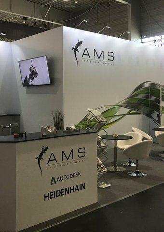 AMS International auf Fachmessen